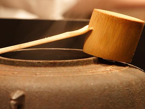 和の心 2014.01.21 茶釜と柄杓