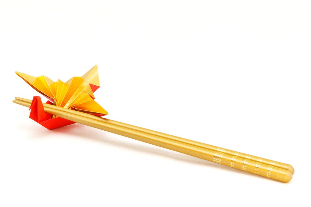 箸置きの折り方でみんなをアッといわせるテクニック