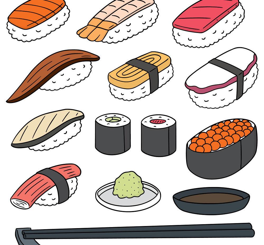 寿司のイラストを見ていて思うのはどんなこと?