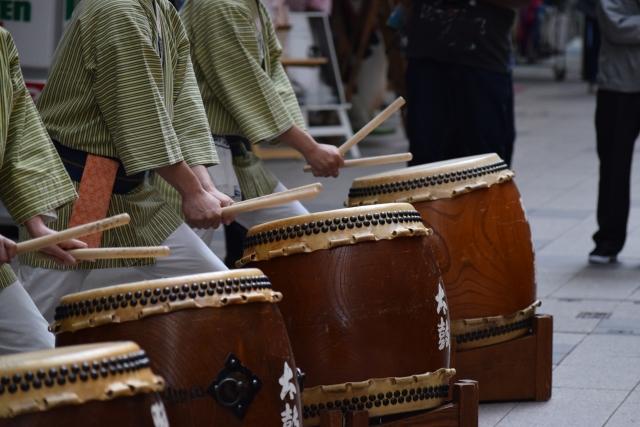 夏祭りには外せない和太鼓。その歴史と魅力について